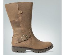 Damen Schuhe Stiefel mit Schnalle