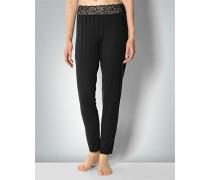 Damen Nachtwäsche Pyjama-Pants mit Spitzendetail