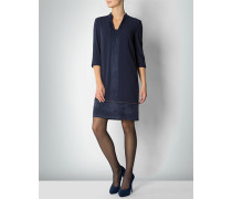 Damen Kleid in edlem Material-Mix