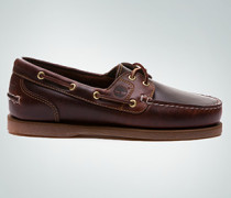 Damen Schuhe Classic Boat rot Kalbleder