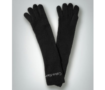 Damen Handschuhe mit glitzerndem Logoschriftzug