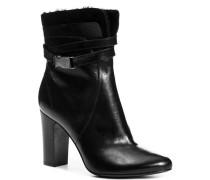 Damen Schuhe Stiefelette Nappaleder