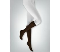 Damen Socken Kniestrümpfe 'Sensual Silk' im 3er Pack