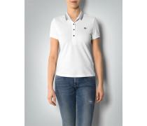 Damen Polo-Shirt aus Baumwoll-Piqué