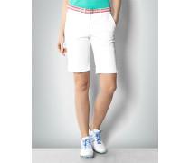 Damen Hose Golfbermuda mit Umschlag