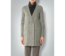 Damen Mantel aus Walk-Strick