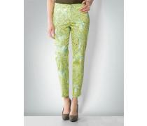 Damen Hose mit Ranken-Muster