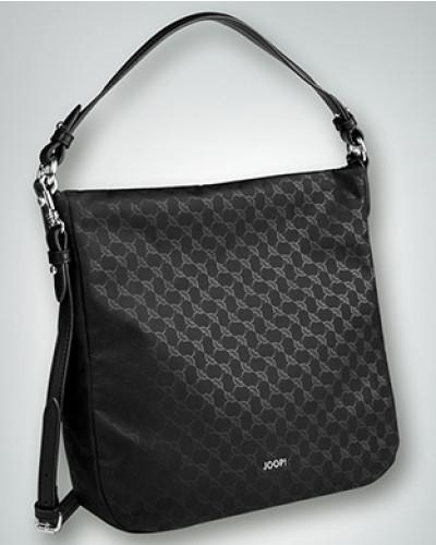 Damen Hobo Bag mit Allover Logo Print