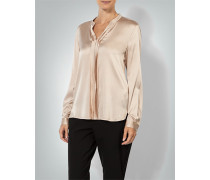 Damen Bluse aus Seiden-Stretch