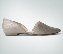 Damen Schuhe Ballerinas in raffinierter Optik