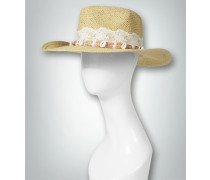 Damen Strohhut mit extravagantem Zierband