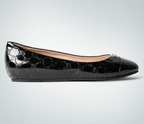 Schuhe Ballerinas in Lackleder-Optik