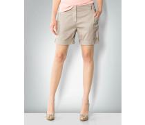 Damen Hose Short mit Umschlagsaum