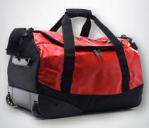 Damen Reisetasche mit Rollen -schwarz