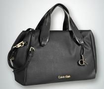 Damen Tote Bag mit feiner Ziernietenlinie