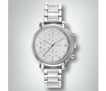 Damen Uhr Chronograph in sportiv-zeitloser Eleganz