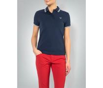 Damen Polo-Shirt mit Kontrastdetails