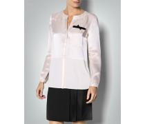 Damen Bluse mit Seidenanteil