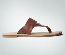 Damen Schuhe Zehensandale aus Leder