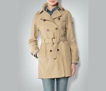Damen Jacke Trenchcoat aus Funktionsmaterial