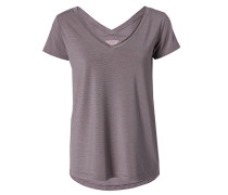 Damen Shirt im Streifen-Look