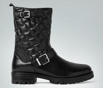 Damen Schuhe Boots aus wasserabweisendem Leder