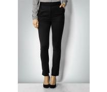Damen Hose mit seitlichen Zierstreifen
