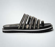 Damen Schuhe Zehen-Pantoletten mit Zierriemen
