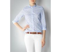 Damen Bluse mit Schleifen-Dessin