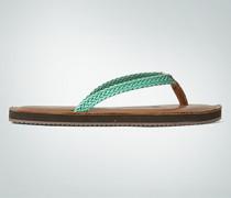 Damen Schuhe Zehensandale mit geflochtenem Riemen
