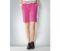 Damen Hose Golfbermudas im Modern Fit mit Umschlag