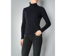 Damen Pullover Rolli mit Ellenbogenpatches