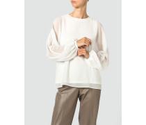 Shirtbluse in fließender Qualität
