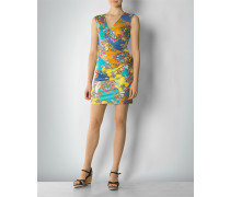 Damen Jerseykleid mit seitlichen Raffungen
