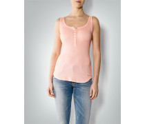 Damen T-Shirt Top in Rippenjersey