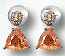 Damen Schmuck Ohrringe mit Zirkonia