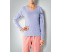 Damen Pyjama-Shirt aus Baumwolle