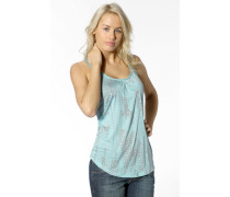 Damen T-Shirt Top Modal türkis