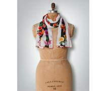 Damen Seidenschal mit Blütenprint