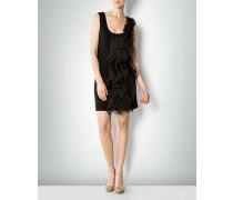 Damen Kleid mit Volant-Besatz