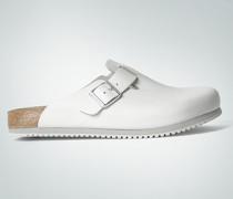 Damen Schuhe Pantolette aus Leder