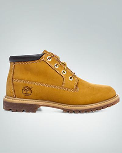 Timberland Damen Schuhe Boots, Nubukleder, yellow