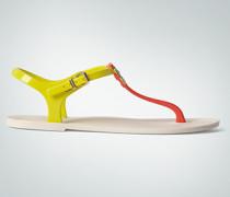 Damen Schuhe Zehensandale aus Gummi