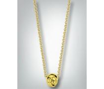 Damen Schmuck Halskette mit ineinander verschmelzenden Ringen