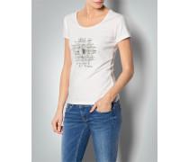 Damen T-Shirt mit Sonnenblumen-Print
