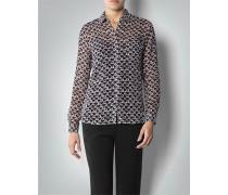 Damen Bluse in transparenter Seiden-Qualität
