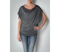 Damen T-Shirt mit Pailletten-Schultern
