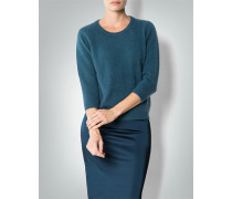 Damen Pullover mit Kontrast-Rücken