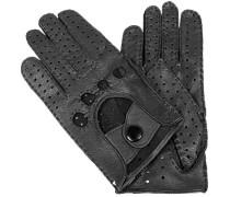 Damen Autofahrer-Handschuhe Hirschleder