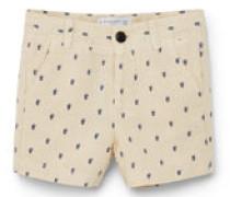 Bermuda-Shorts Aus Segeltuch Mit Baumwolle